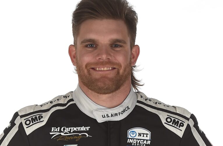 Conor Daly fastest as rain halts IndyCar testing at IMS