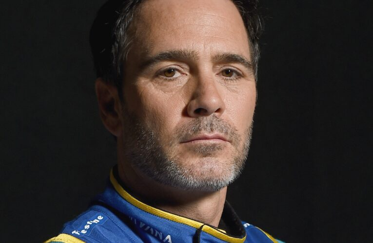 Jimmie Johnson strengthening grip and upper body for IndyCar