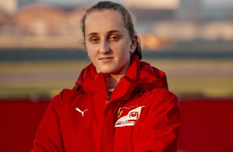 Ferrari signs first female driver to its F1 team's driver academy
