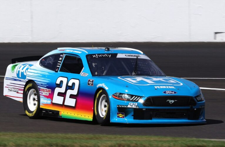 NASCAR: Austin Cindric fulfills dream with win at Indianapolis Motor Speedway Road Course