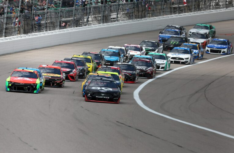 Three Cup Series teams fined post-Kansas
