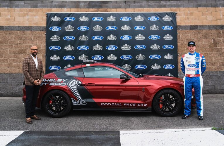 Ford named official pace car provider for Nashville Superspeedway