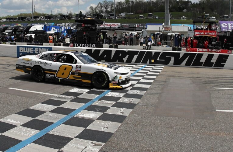 Josh Berry claims first NASCAR Xfinity Series victory at Martinsville