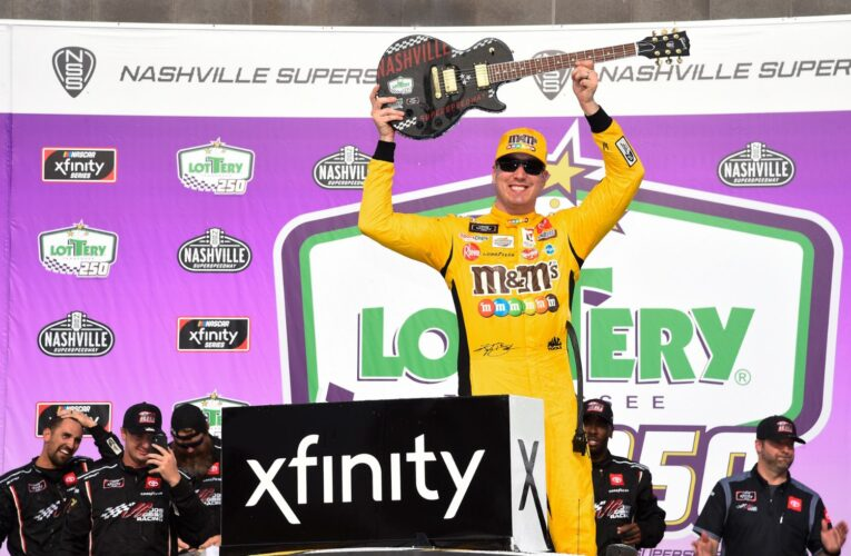 """Kyle Busch earns 100th NASCAR Xfinity Series win in """"Tennessee Lottery 250"""""""