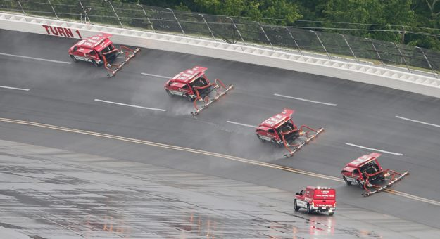 NASCAR: Talladega playoff Cup race rained out