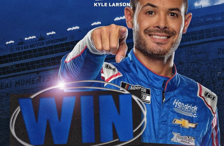 NASCAR: Kyle Larson schools the field for the 8th time