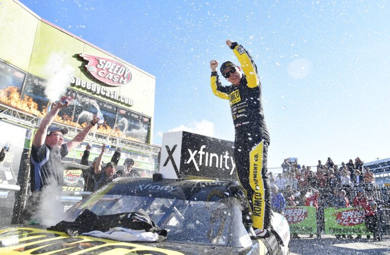 NASCAR: Nemechek overcomes penalty for second Xfinity Series victory