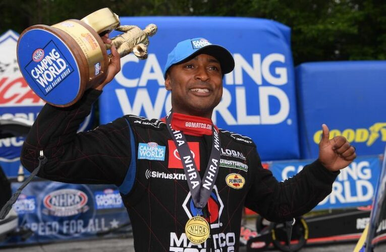 NHRA: Antron Brown cements Atlanta legacy, beating Steve Torrence in final round