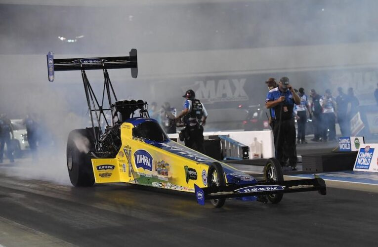 NHRA: Brittany Force And Flav-R-Pac Set Track Record At Four-Wide Nationals At Zmax Dragway