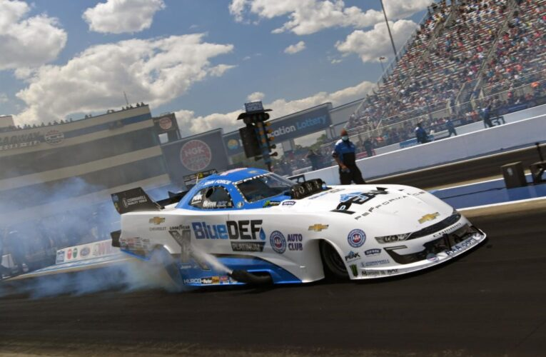 NHRA: Forces Sweep No.1 Qualifying Positions At Zmax Dragway