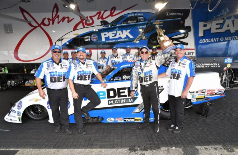 NHRA: John Force wins #153 in New England Nationals