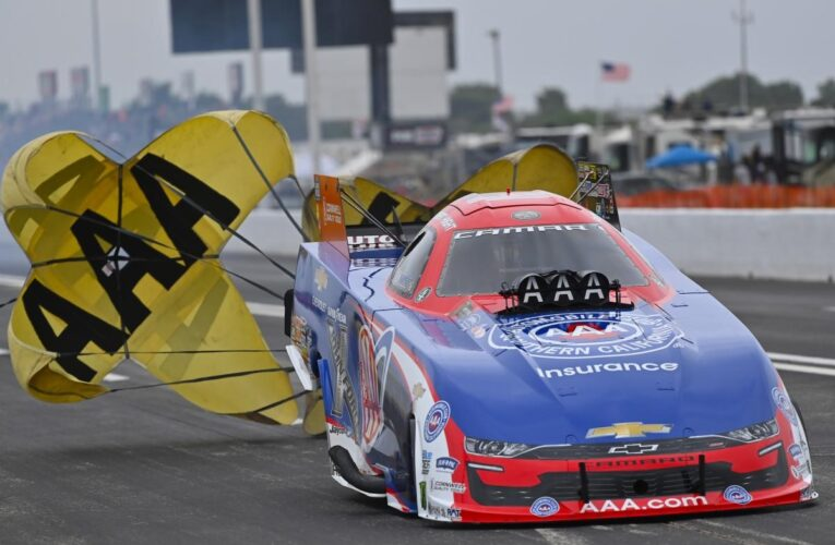 """NHRA"""" Force, Hight, Anderson, and Johnson top FallNationals Quals"""