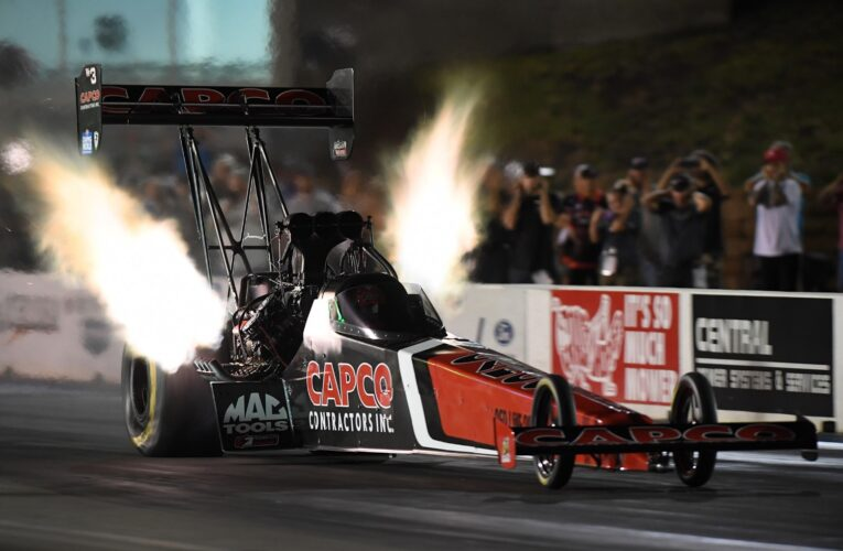 NHRA: Billy Torrence, J. R. Todd and Kyle Koretsky low qualifiers on Friday at Topeka