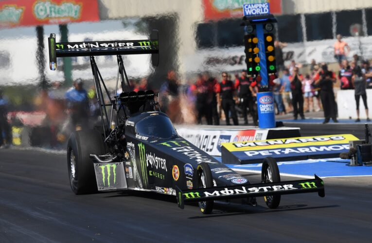 NHRA: Force, Todd and Coughlin Jr. lead fields in Topeka heading into raceday
