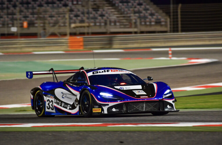 Barnicoat storms McLaren to pole in Gulf 12 Hours Bahrain