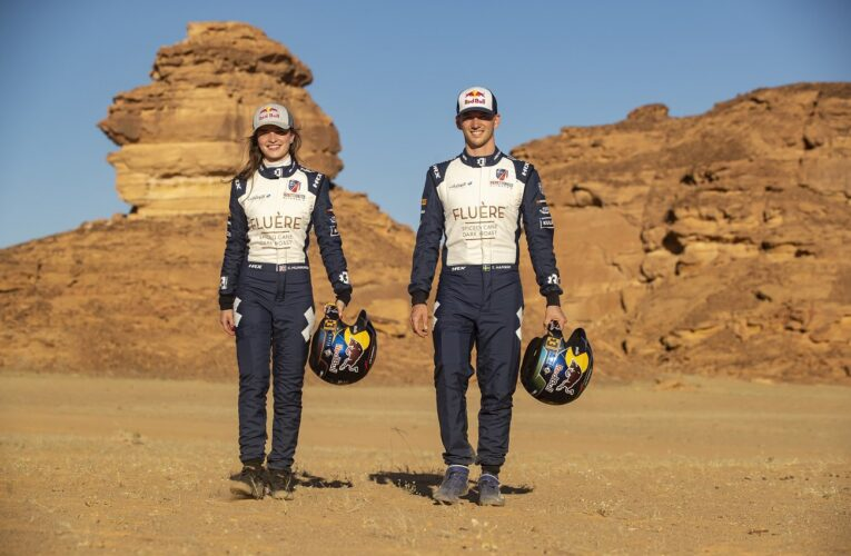 Andretti United Extreme E extends driver contracts with Catie Munnings and Timmy Hansen