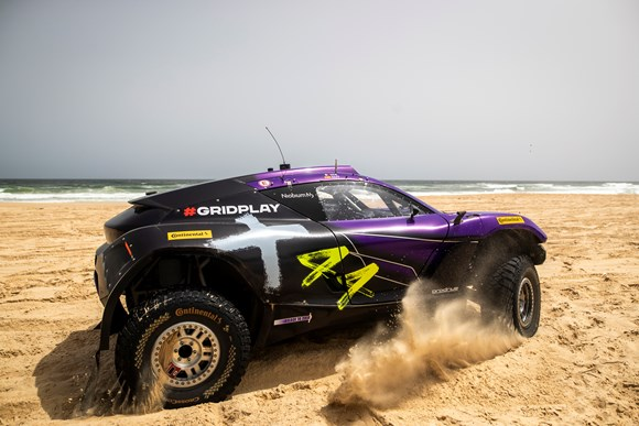Extreme E: X44 throws down the gauntlet topping the timesheets in qualifying