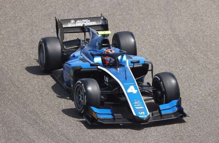 F2: Drugovich goes fastest ahead of Ticktum in opening practice