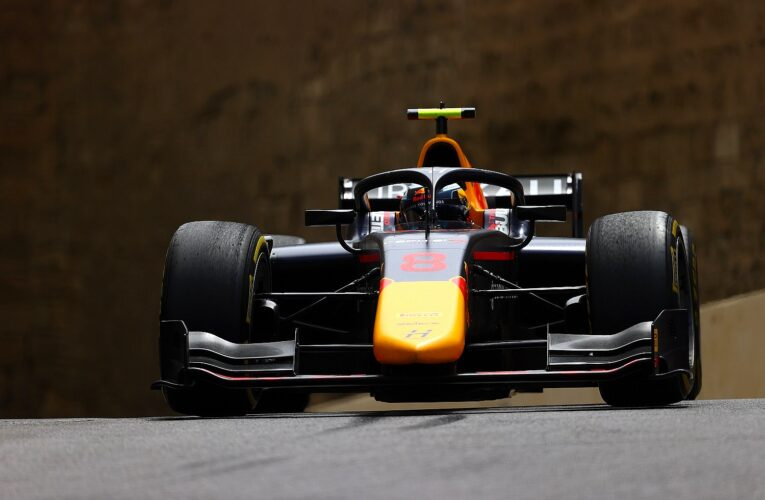 F2: Vips beats Boschung to P1 in opening session at Baku