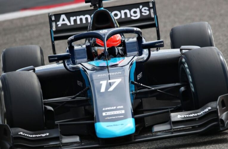 F2 Test Day 3: Armstrong finishes final day on top
