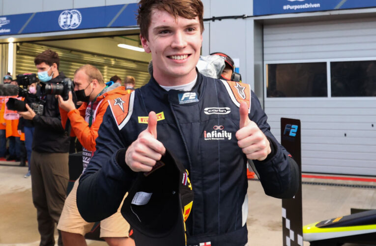 F2: Ticktum masters slippery Sochi conditions en route to victory