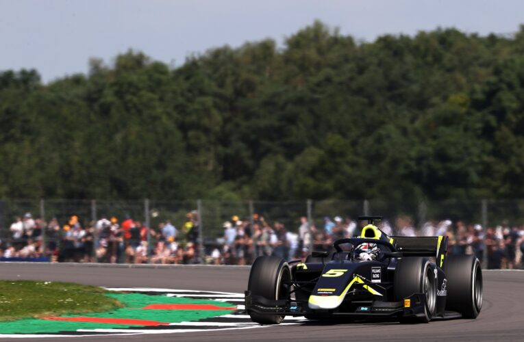 F2: Ticktum fastest ahead of Piastri in opening session at Silverstone