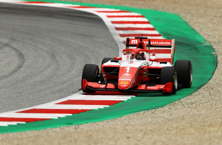 F3: Hauger beats Vesti to pole with late lap