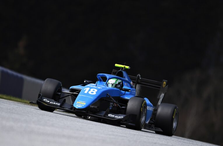 Collet breaks F3 track record at the Red Bull Ring