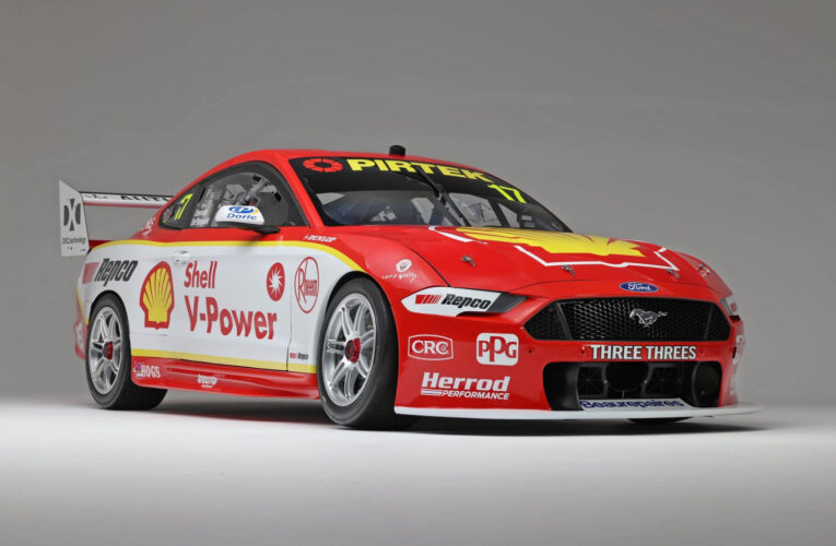 Dick Johnson Racing unveils 2021 Shell livery