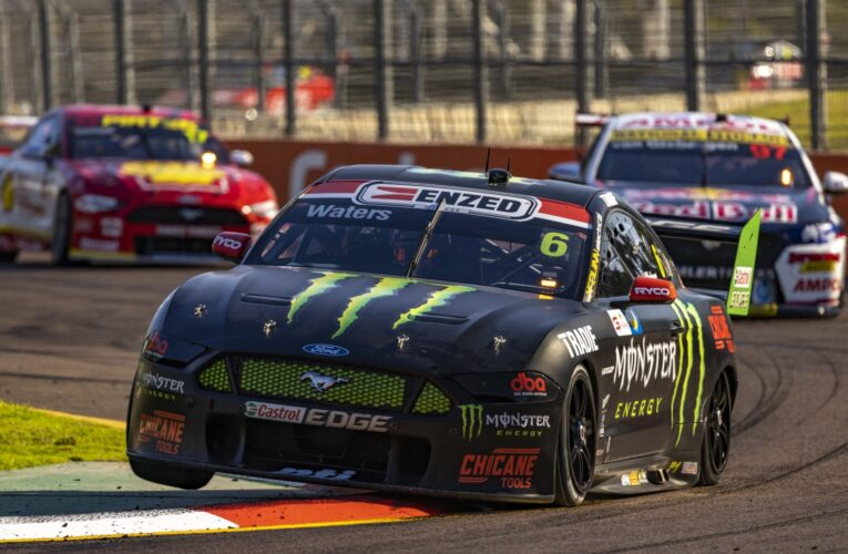 Supercars: Waters holds off Van Gisbergen in Townville