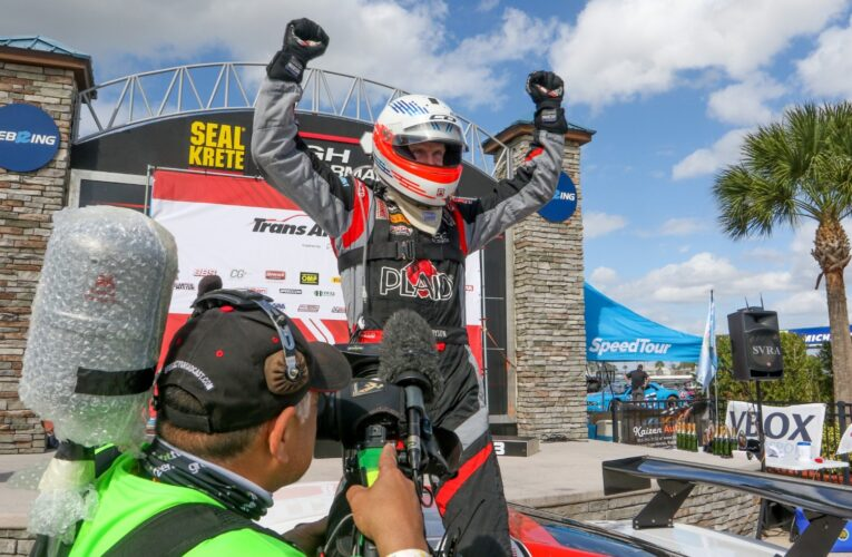Starting Last, Dyson Charges to Trans Am Victory at Sebring