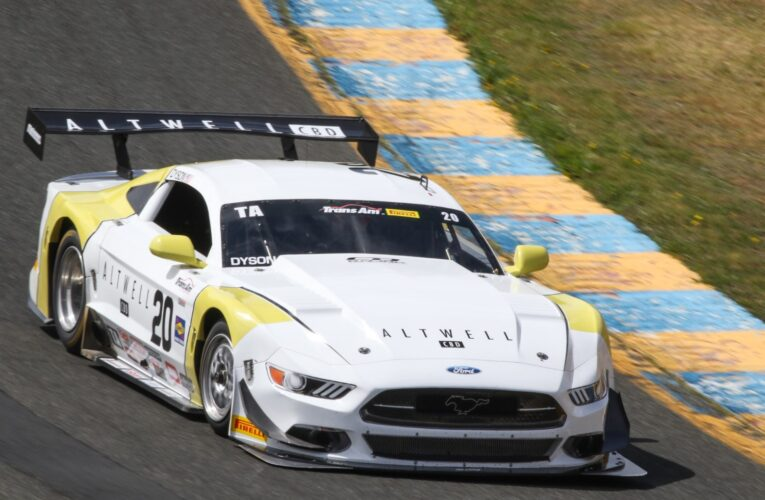 Dyson Breaks Trans Am Track Record in Sonoma Qualifying