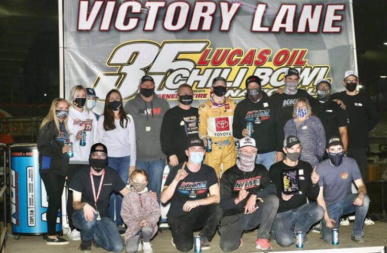 Cannon McIntosh Shines In Chili Bowl Opener