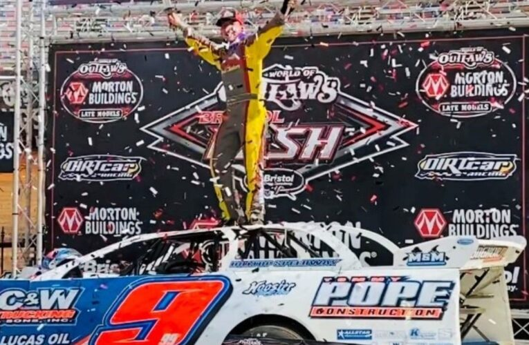 Moran And Strickler Power To Feature Victories In The World Of Outlaws Bristol Bash Sunday At Bristol