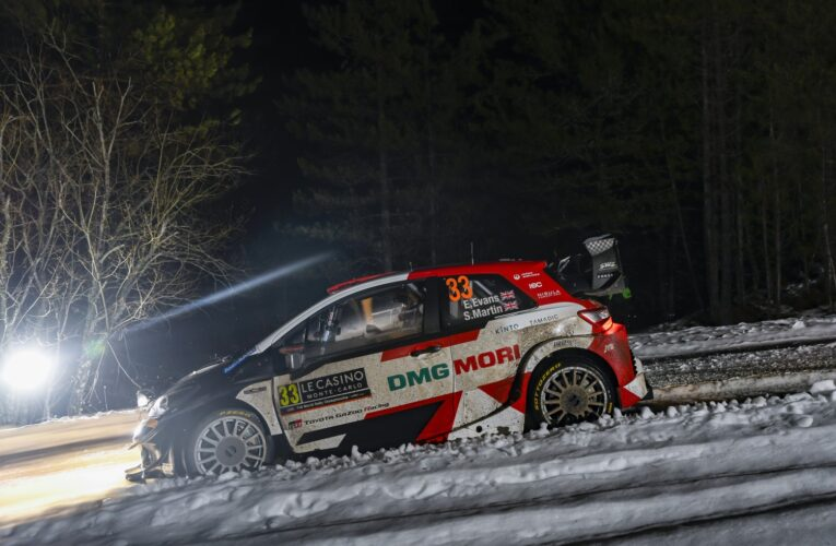 WRC Monte Carlo: Toyota first and second after a demanding day
