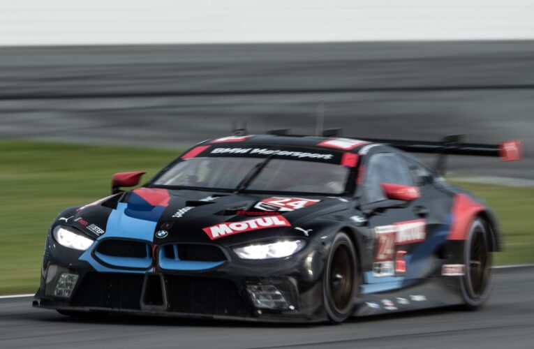 BMW Team RLL racing for third consecutive GTLM class Rolex 24 win
