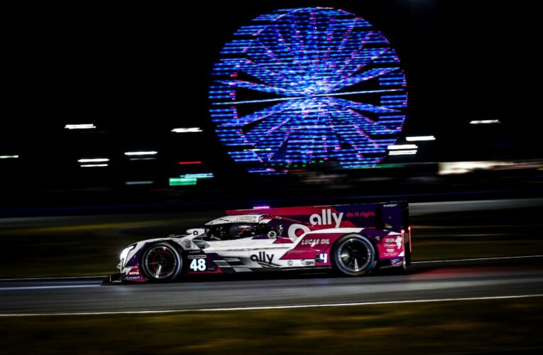 Rolex 24 Hour 8: #48 Ally Cadillac leads at 1/3-mark