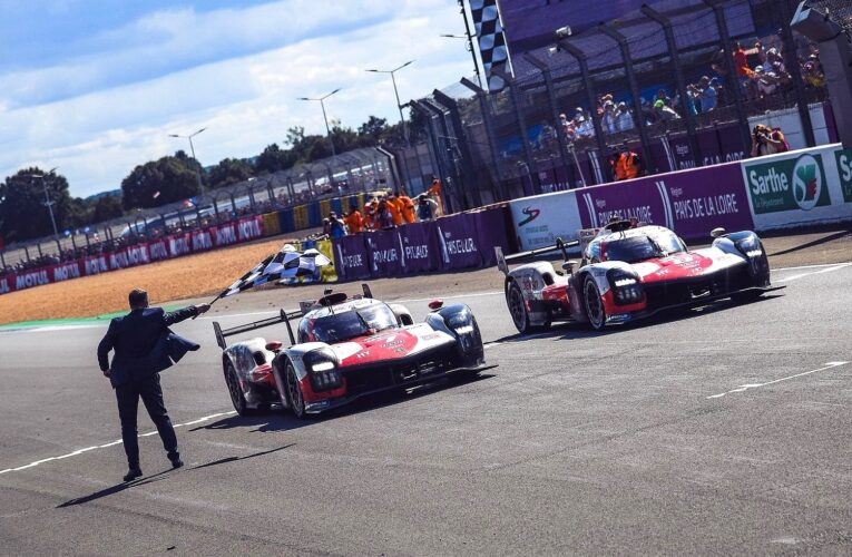 Le Mans: Toyota leads all the way for historic 1-2 finish