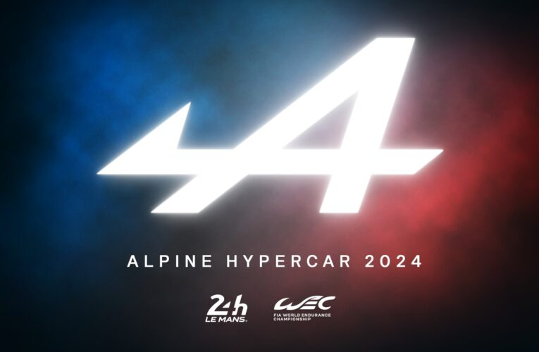 Alpine commits to FIA WEC's Hypercar category from 2024
