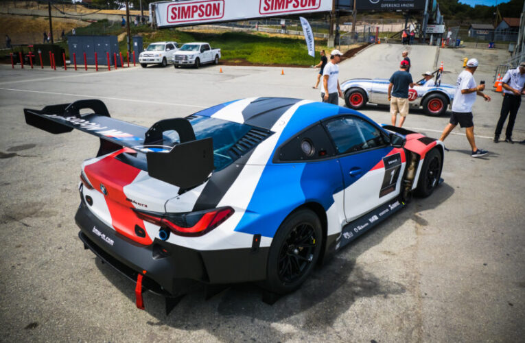 Video: First look at the BMW M4 GT3 Racing Car