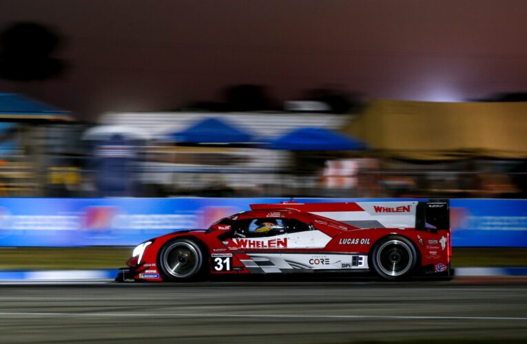 #31 Action Express sweeps all 12 Hours of Sebring Thursday practice sessions