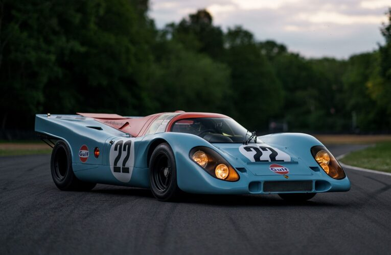1970 Porsche 917 K From Steve McQueen's 'Le Mans' Is up for Auction