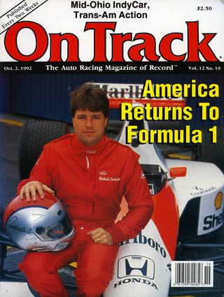 Did you know that Michael Andretti signed to drive for Ferrari in 1992?