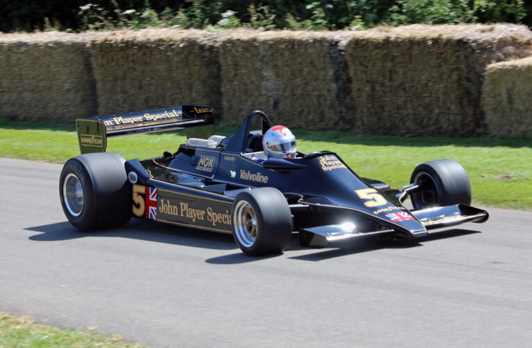Mario Andretti celebrated at this year's Goodwood