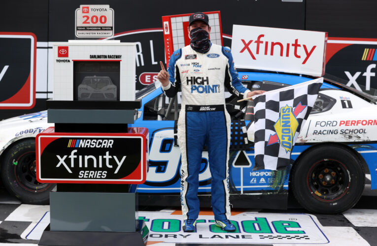 Chase Briscoe Scores Bittersweet Darlington Victory