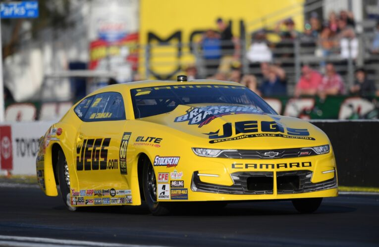 B. Force, Hagan, Coughlin Top Qualifiers at Pomona