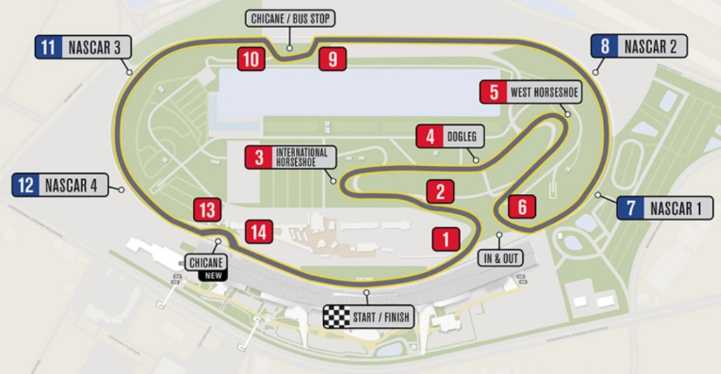 Daytona Road Course To Have Chicane Added For Nascar Races Autoracing1 Com