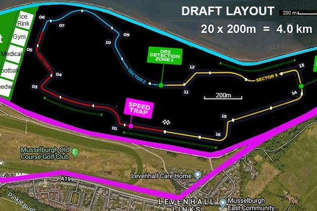 Plans revealed for road course circuit in Scotland